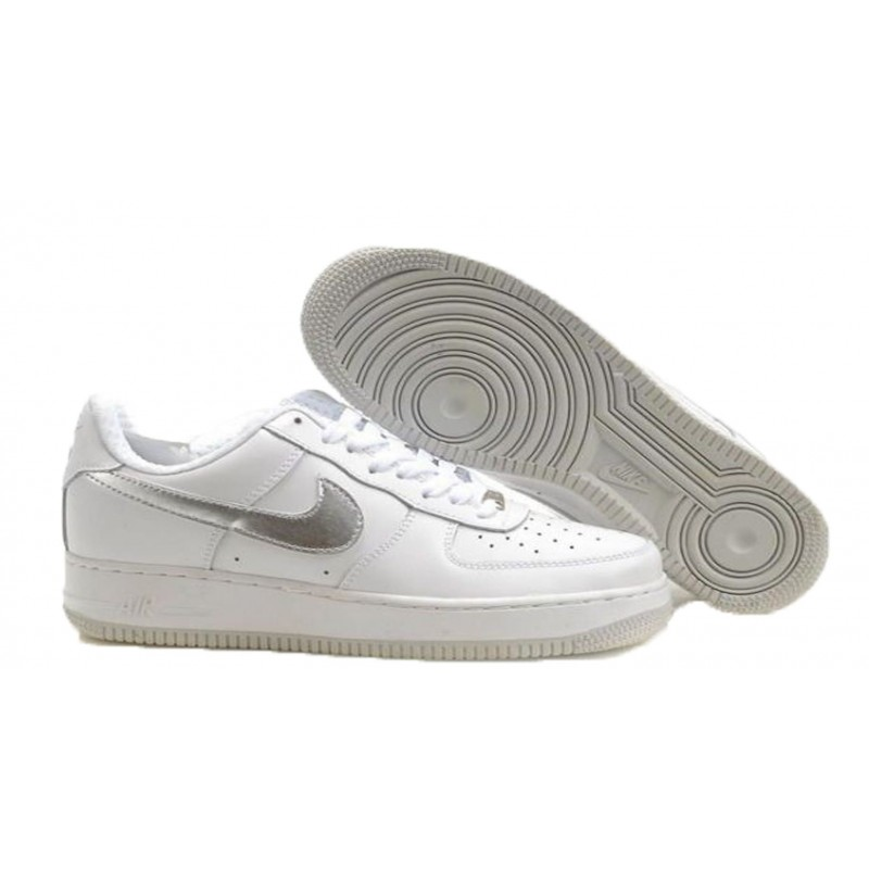 """Air Force """"One"""" SILVER LOGO"""