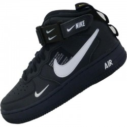 NIKE AIR FORCE 1 07 LV8 UTILITY NEGRAS MID